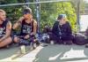 Die Punks auf der Brücke - Marburg steht auf dumme Sprüche