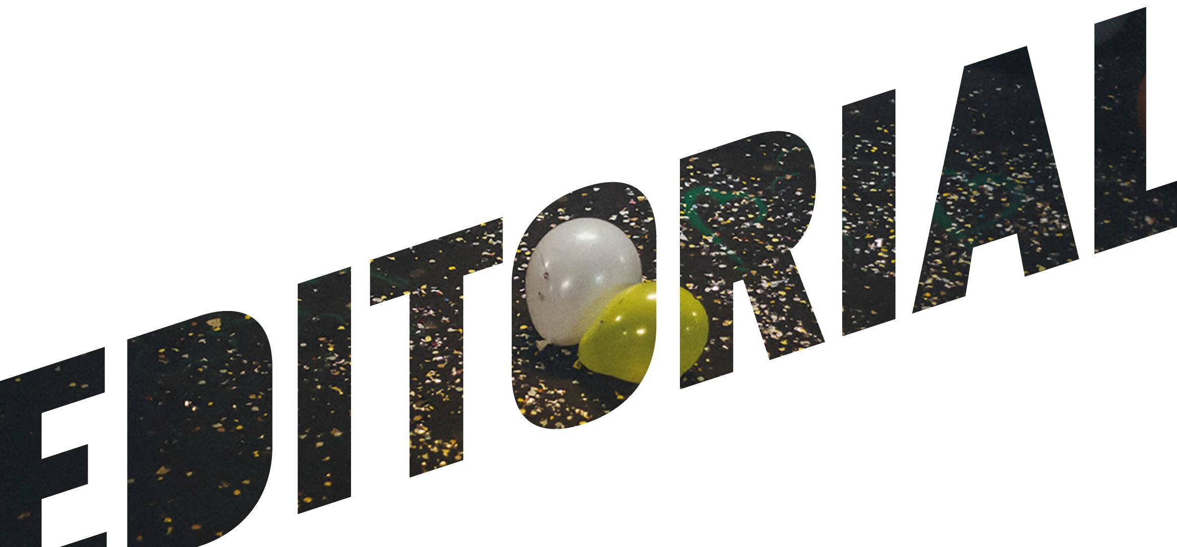 Editorial: Feiern
