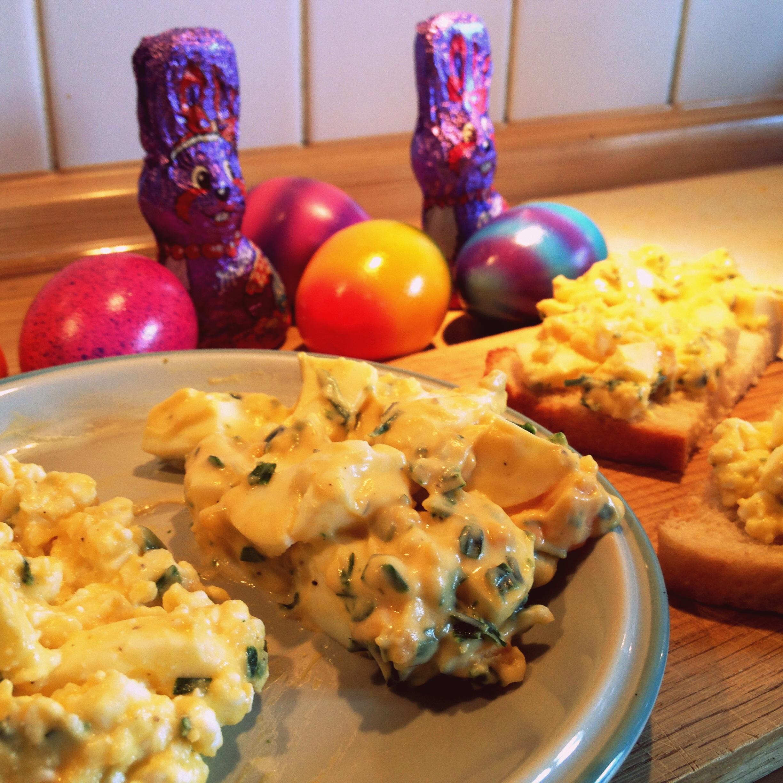 Studentenfutter: Chantals Eiersalat