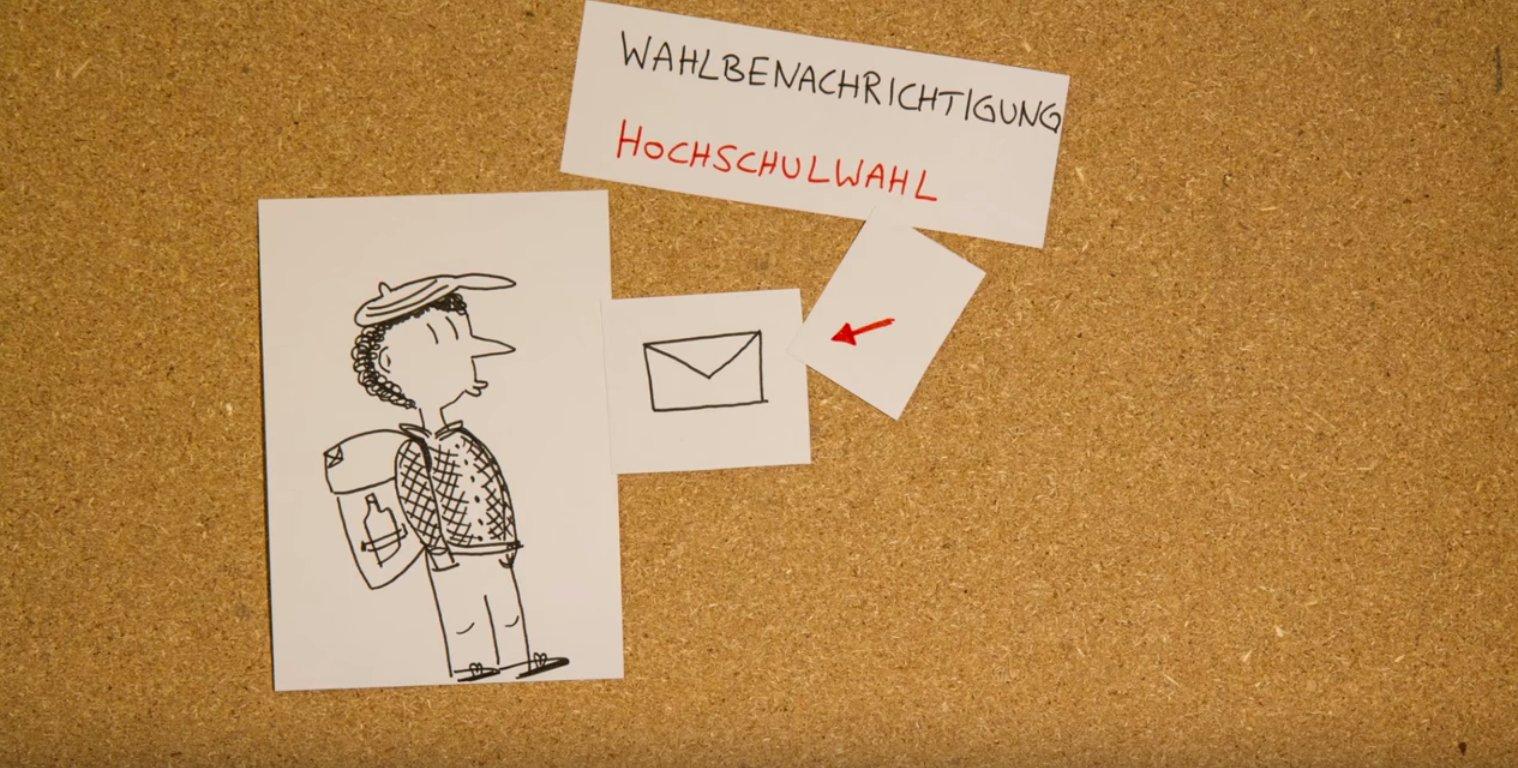 Hochschulwahlen 2015: Philipp geht wählen