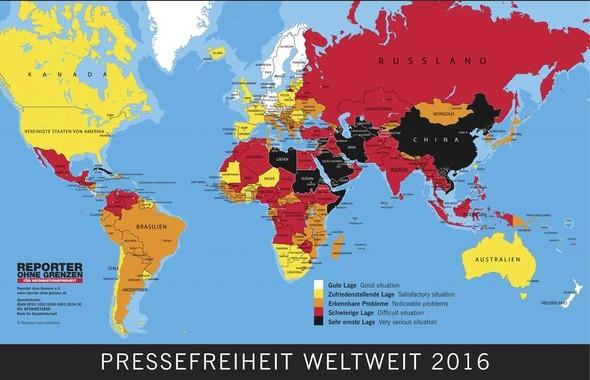 3. Mai: Tag der Pressefreiheit
