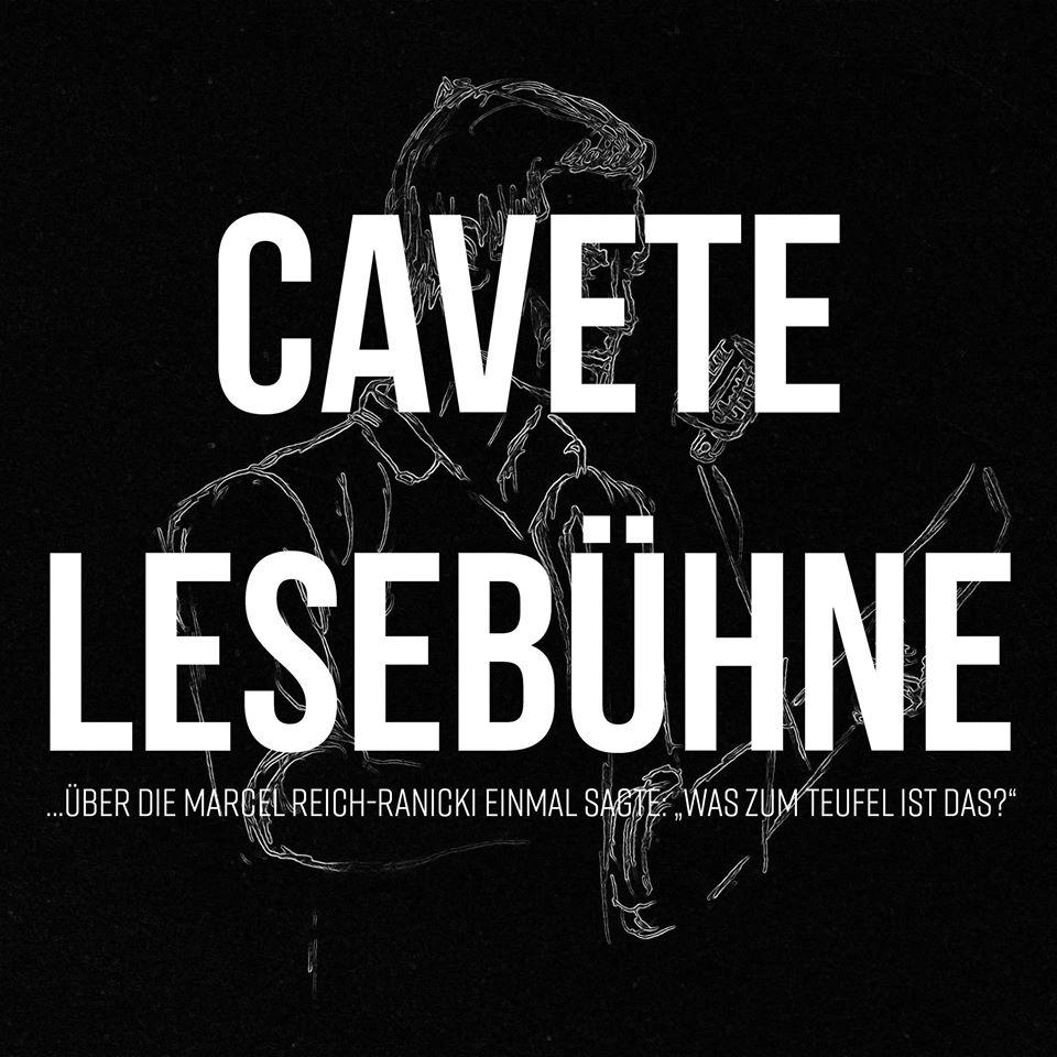 Cavete – lesen und lesen lassen