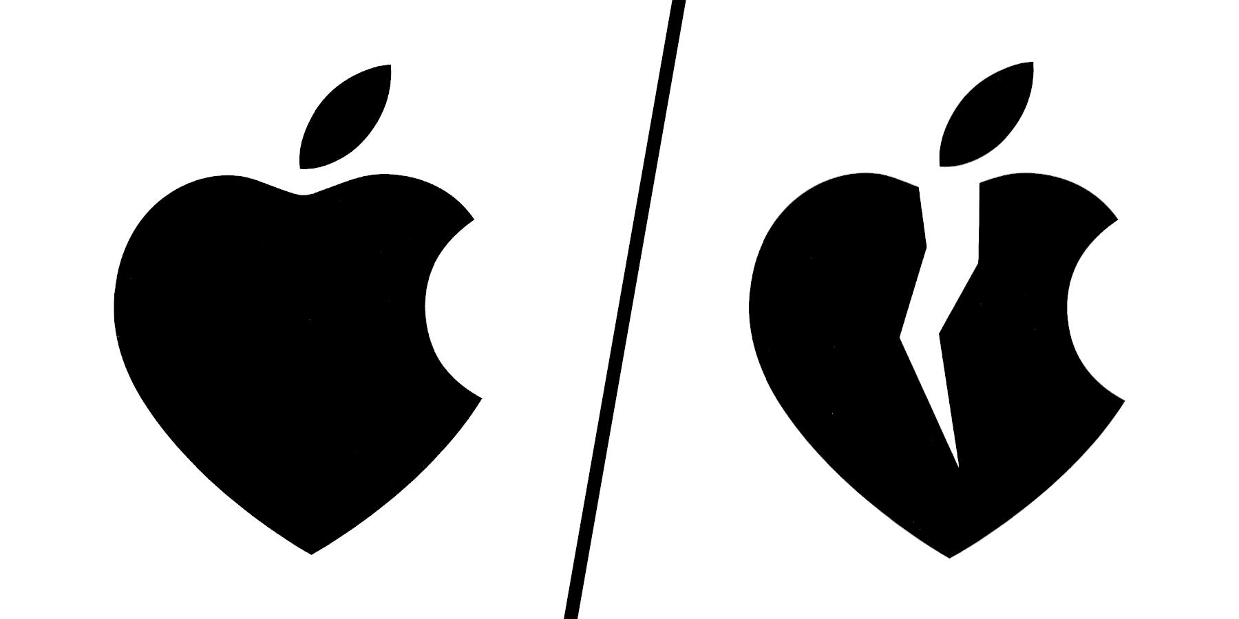 Ich liebe/hasse Apple