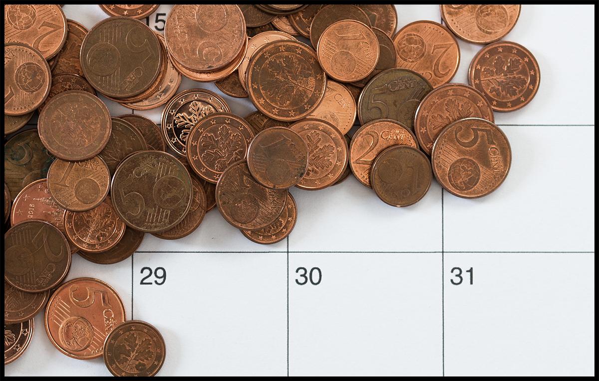 Wie du den Monat finanziell überlebst, ohne arbeiten zu müssen