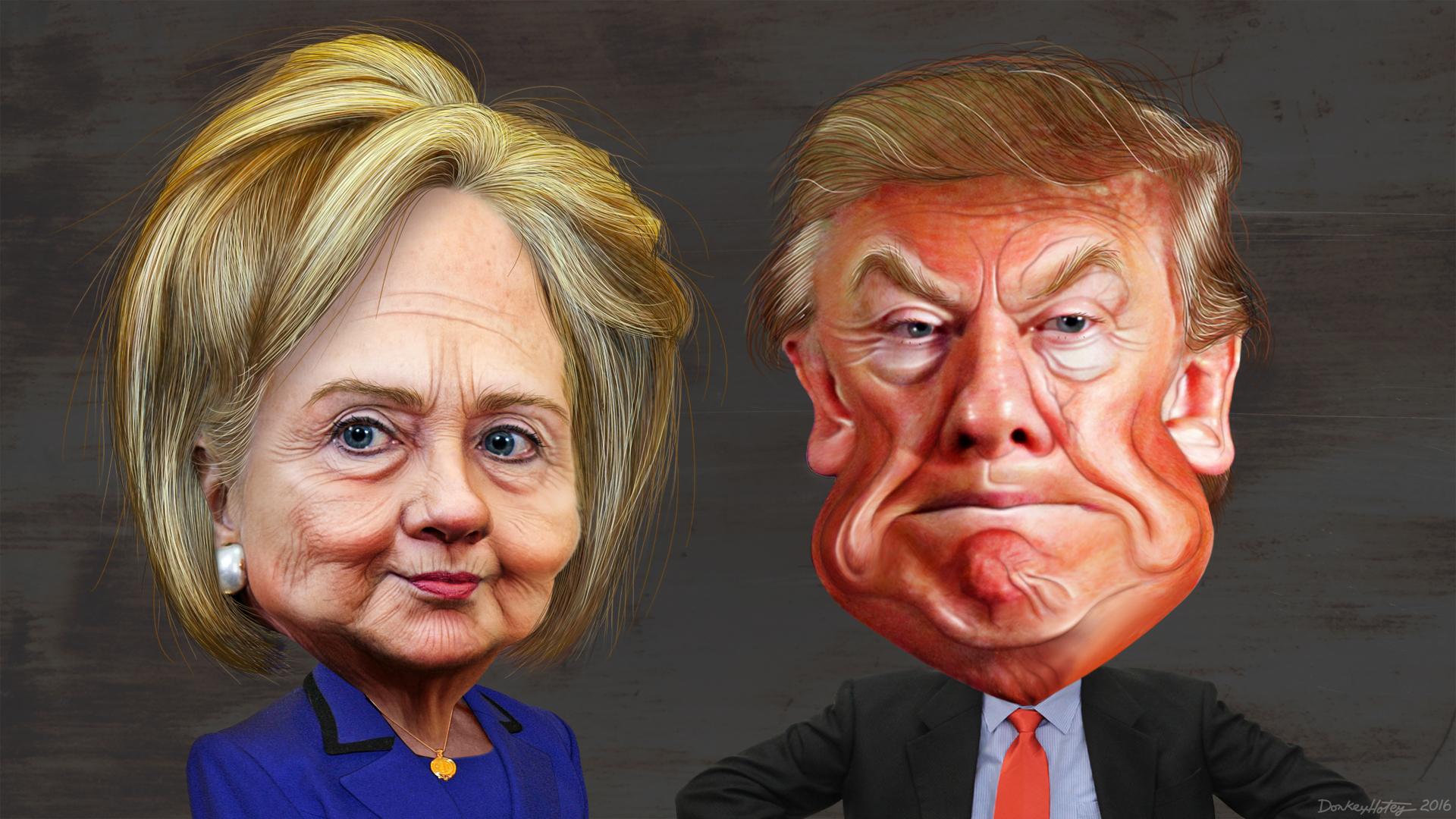 Mit 21,84 % der Wähler:innenstimmen zum Präsidenten der Vereinigten Staaten
