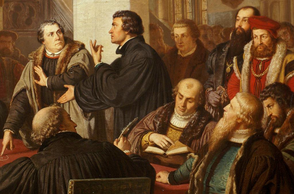 Luther ist doch nur ein protestantischer Posterboy