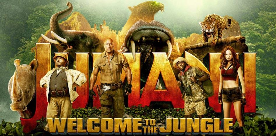 Sneak Review #94 – Jumanji: Willkommen im Dschungel