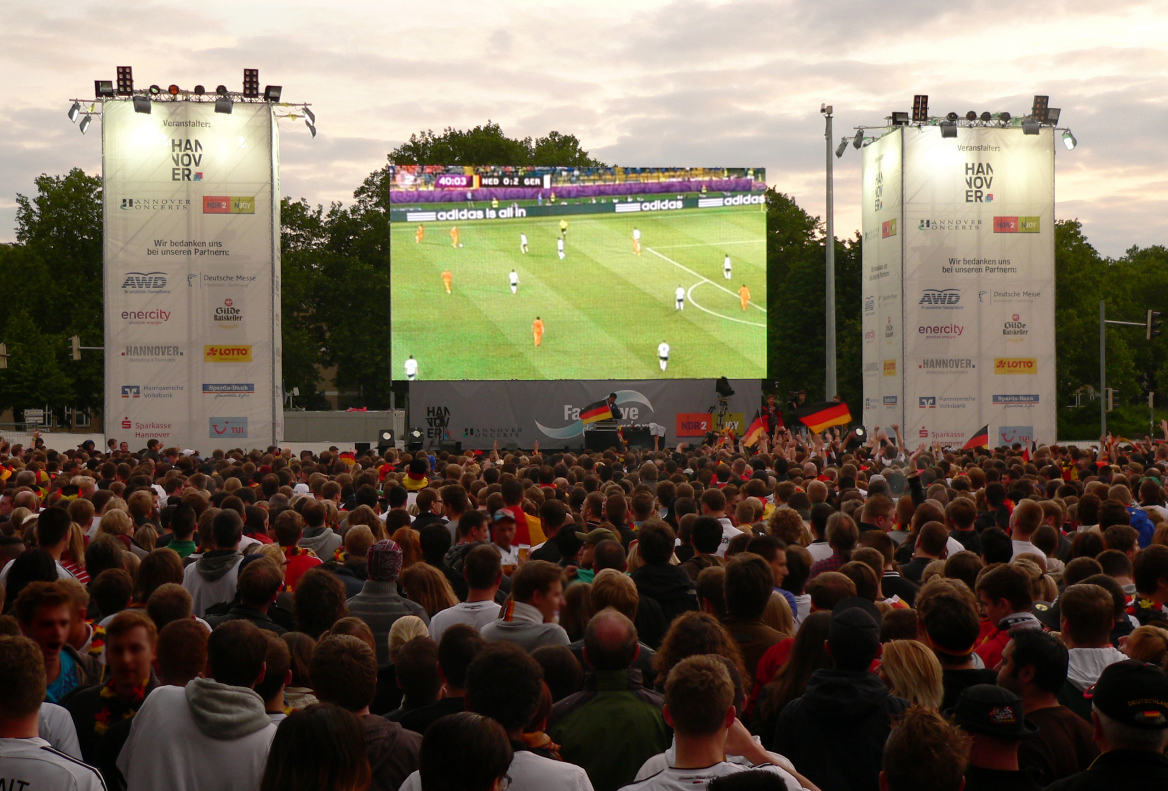 Public Viewing in Marburg: Hier wird WM gucken zum Gruppensport