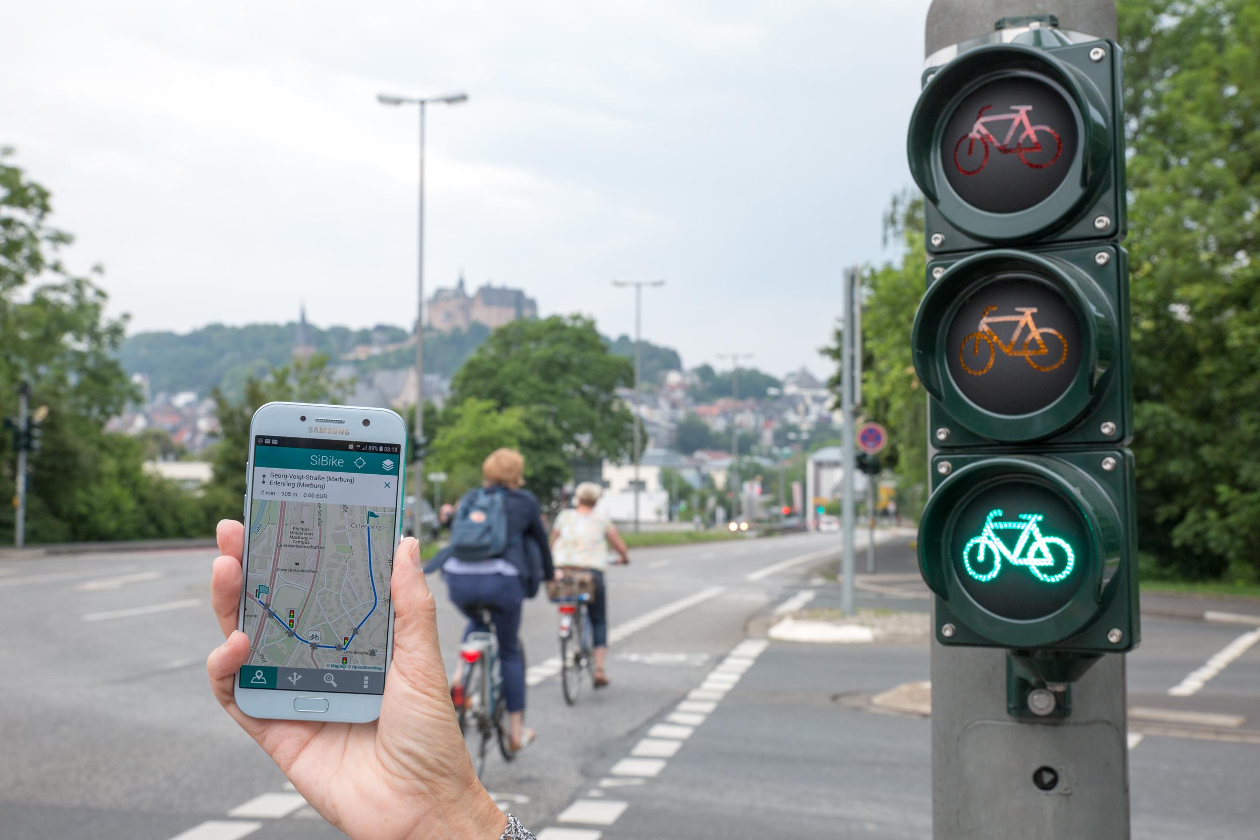 Fahrradfreundliches Marburg – Fahrradfreundliche App